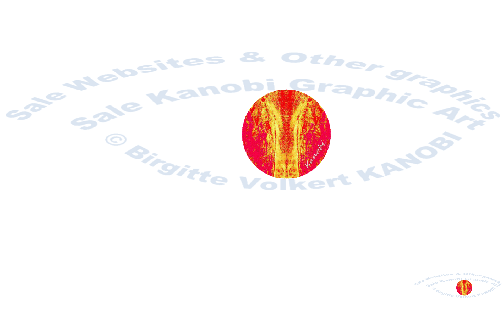 © Kanobi® eye logo tones