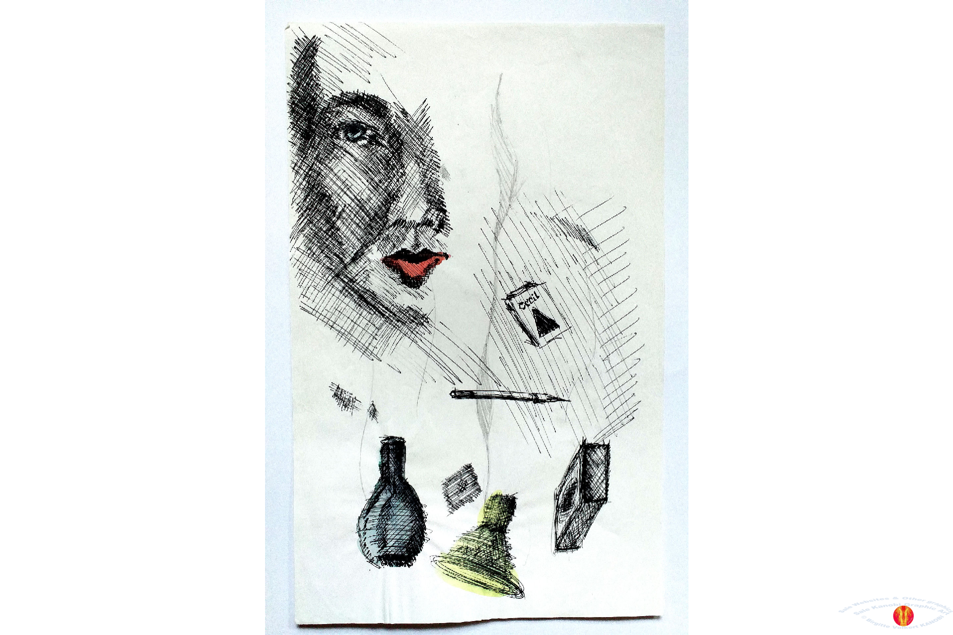 Altid tegnet også på Grafisk EFG første år 1979-80 ©Kanobi®