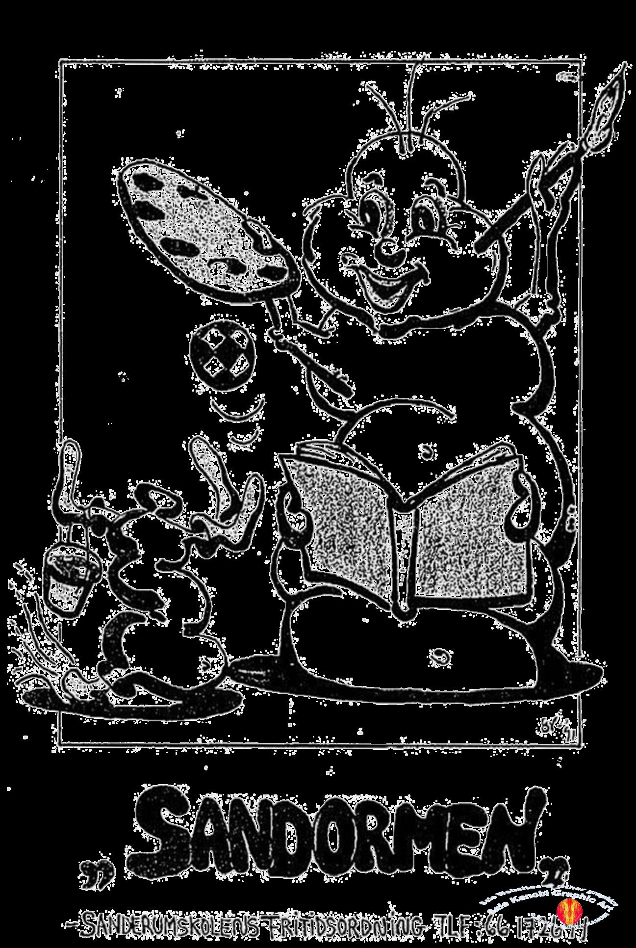 Forside månedsblad Sandormen Kanobi R