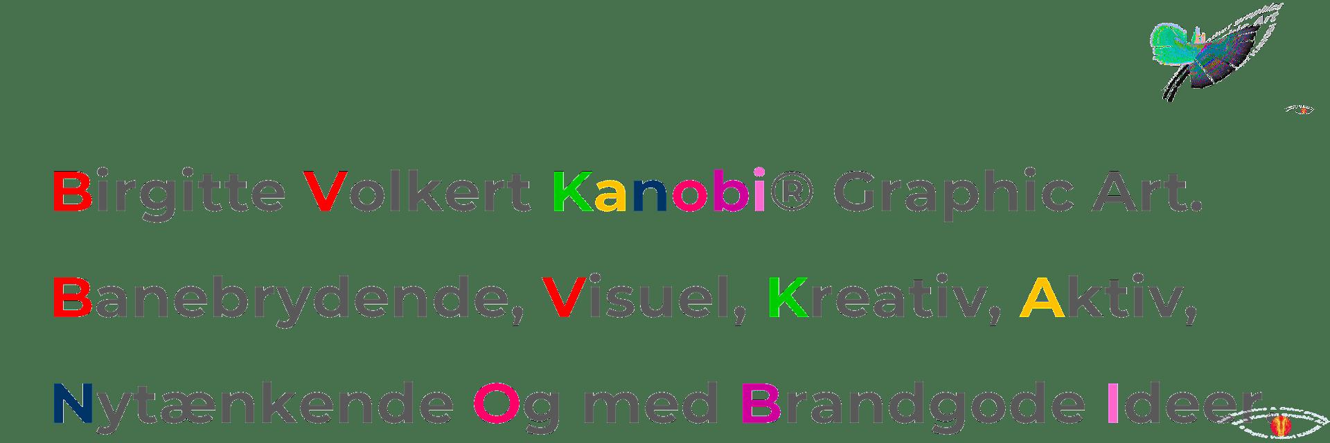 Navnet The name Kanobi®.