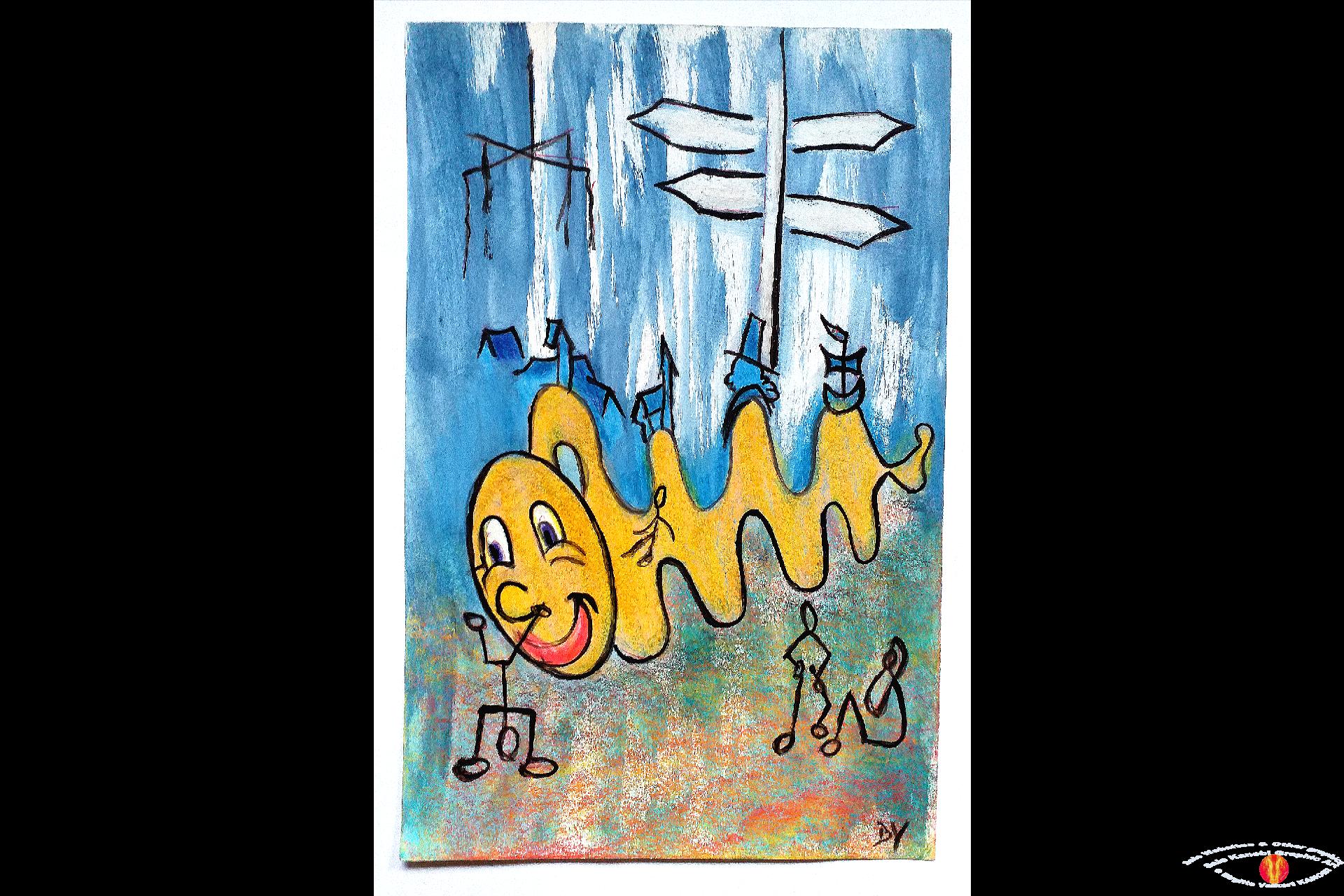 Odense Byen i bevægelse 1991 Sketch ©Kanobi®