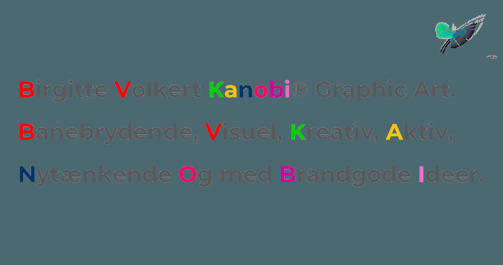 Navnet Kanobi® https://www.birgittevolkert.dk/kreativ-grafik/tekst